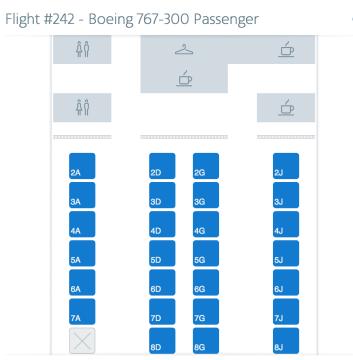 Thrifty Traveler 767-300