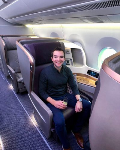 Singapore Business Class Houston to Manchester