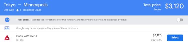 Delta One Suites Price