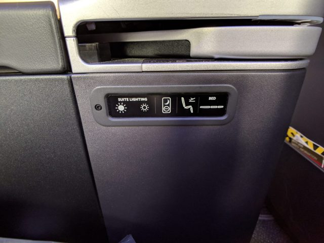 Delta One suite controls