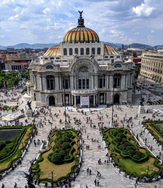 palacio de bellas artes travel mexico city