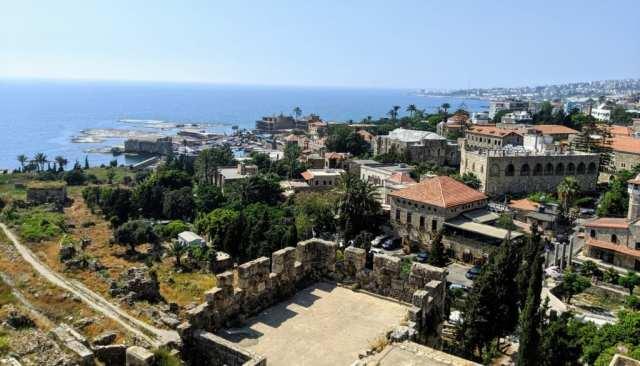 Byblos Lebanon Castle