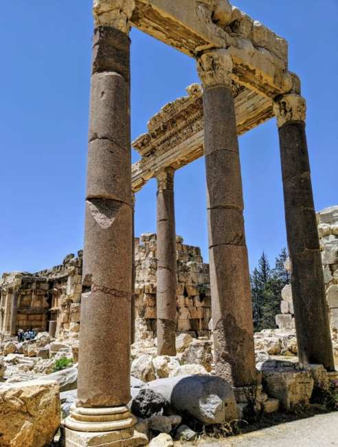 Baalbek columns