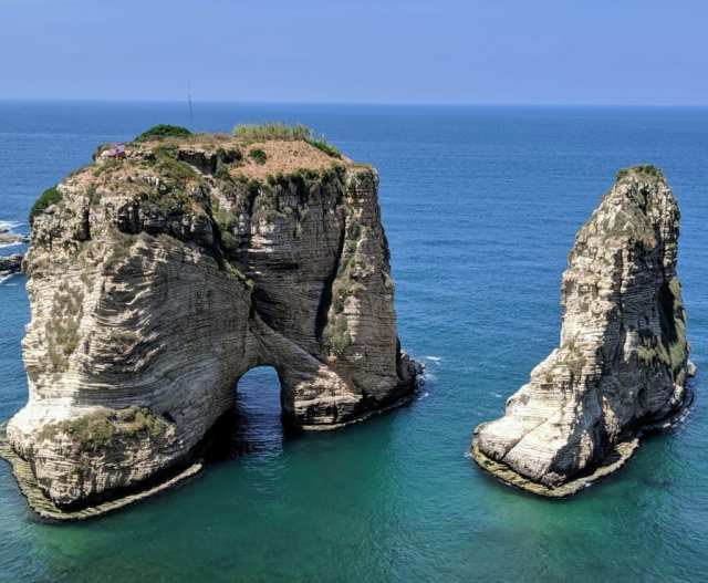 Beirut Raouche Rocks
