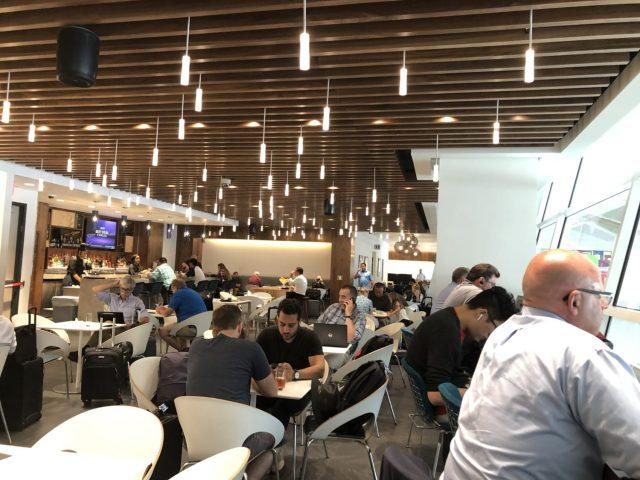 Centurion Lounge Dallas Seating