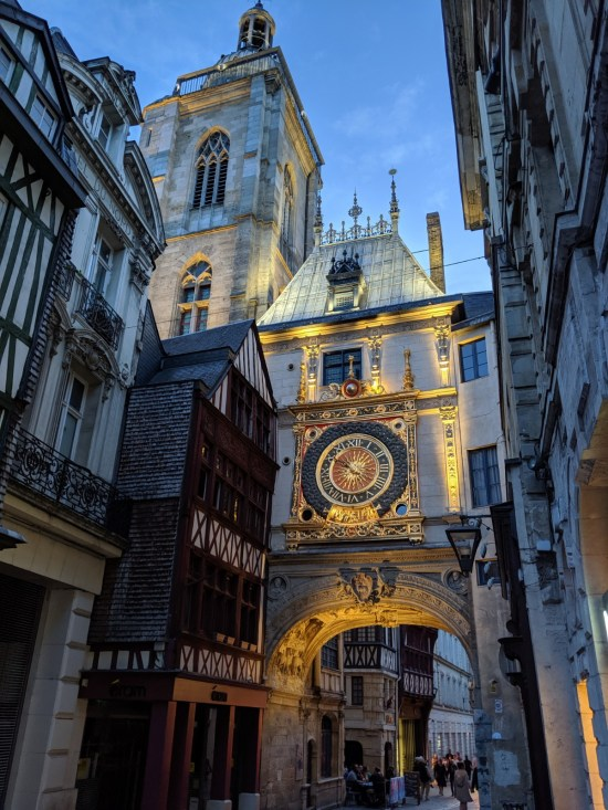 Gros Horloge Rouen Normandy France