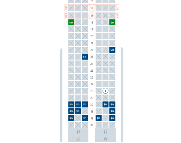 american basic economy seats