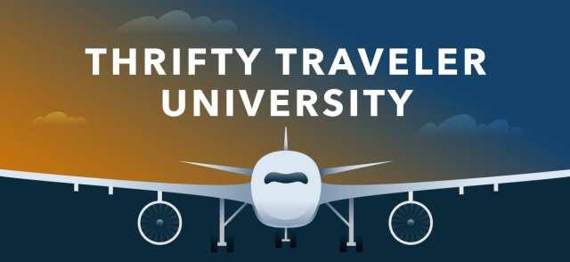 thrifty traveler university