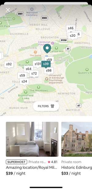 best travel apps airbnb