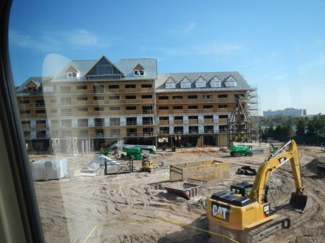 Construction on the DVC Grand Floridian expansion