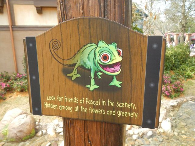 This area has, from what I have heard, nine hidden Pascal's, the chameleon from Tangled.  I found 6