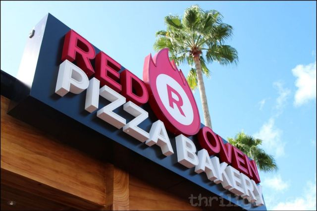 The new Red Oven Pizza Bakery is now open at Citywalk