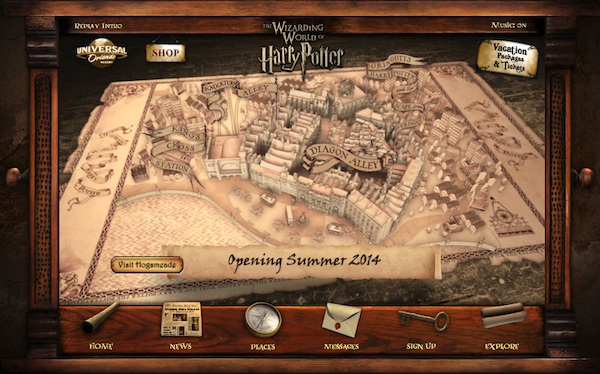 Interactive-Diagon-Alley