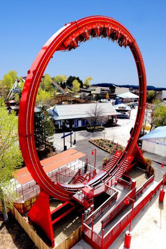 Six Flags Discovery Kingdom Dare Devil Chaos Coaster