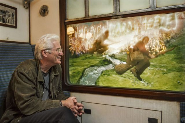 Richard Gere UOR Hogwarts Express photo 10.25.14