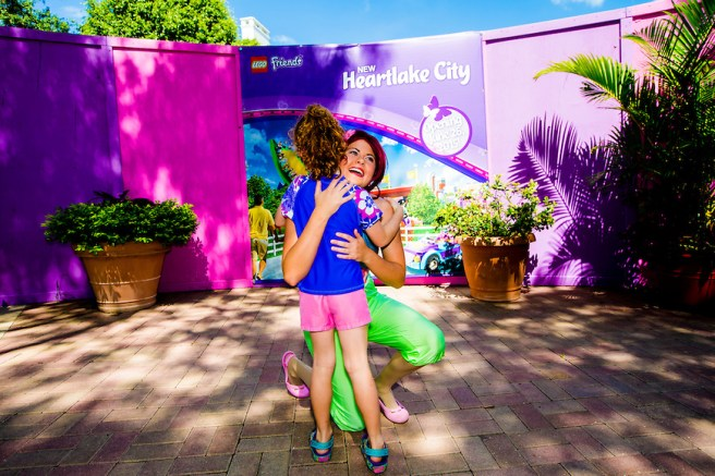 WINTER HAVEN, FL - June 05, 2015 --  In honor of National Best Friends Day on June 8, kids share what it means to be a friend and get the chance to be among the first to experience Mia's Riding Adventure at Heartlake City.  (PHOTO / Chip Litherland for LEGOLAND Florida/Merlin Entertainments Group Inc.)