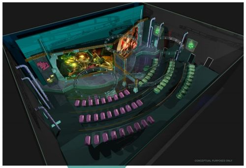 Plants vs. Zombies Garden Warfare 3Z Arena Concept Art 1