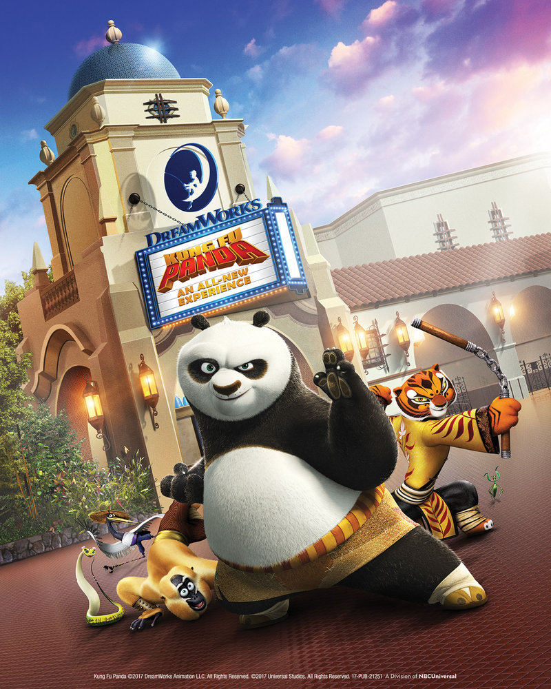 Kung Fu Panda comes to Universal Studios Hollywood in all-new attraction