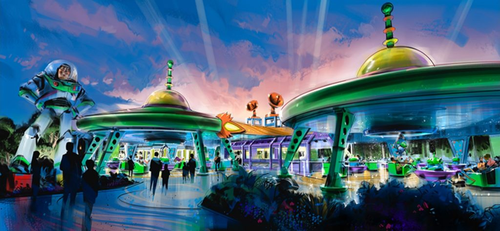 Alien Swirling Saucers coming to Toy Story Land at Disney's Hollywood Studios