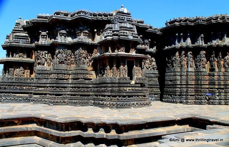 Spotting the Dashavataras at Hoysaleswara Temple at Halebid