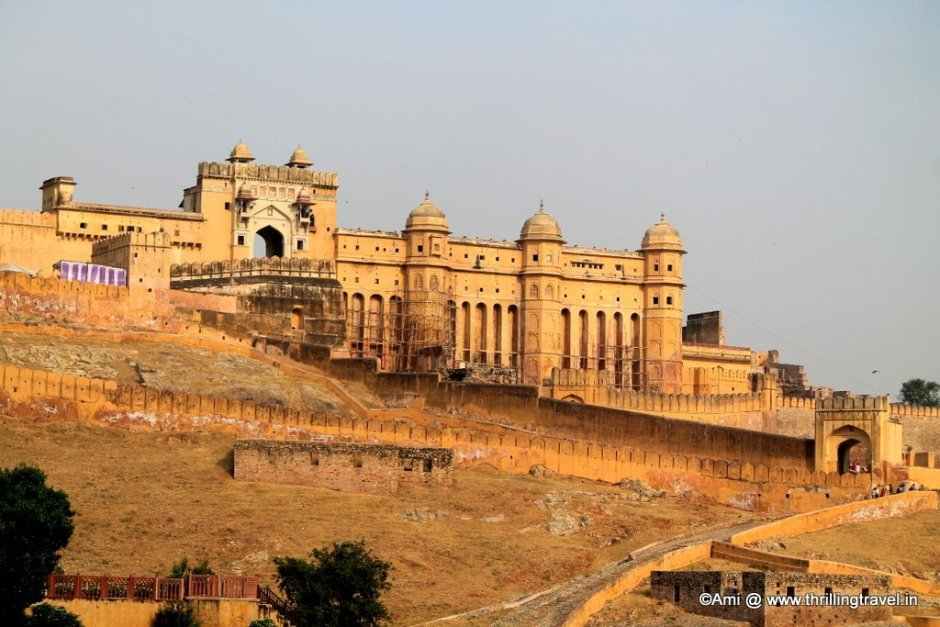 Amer Fort, just 10 - 12 kms from MI Road