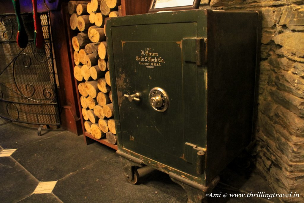 The safe that every guest tries to open at Rokeby Manor