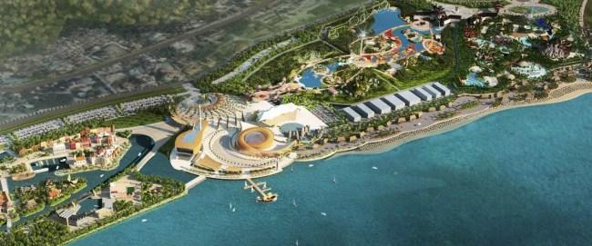 A theme park concept