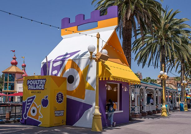 Poultry Palace at Pixar Pier at Disney California Adventure park