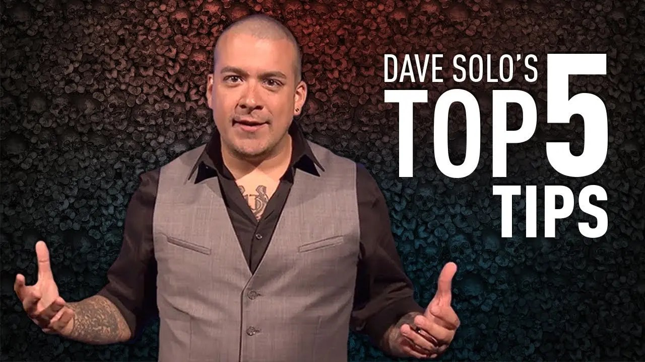 Dave Solo's Top 5 Tips for Halloween Horror Nights