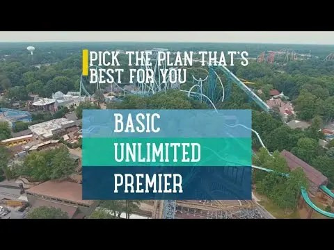All-New Busch Gardens & Water Country USA Membership Program (Includes Christmas Town)