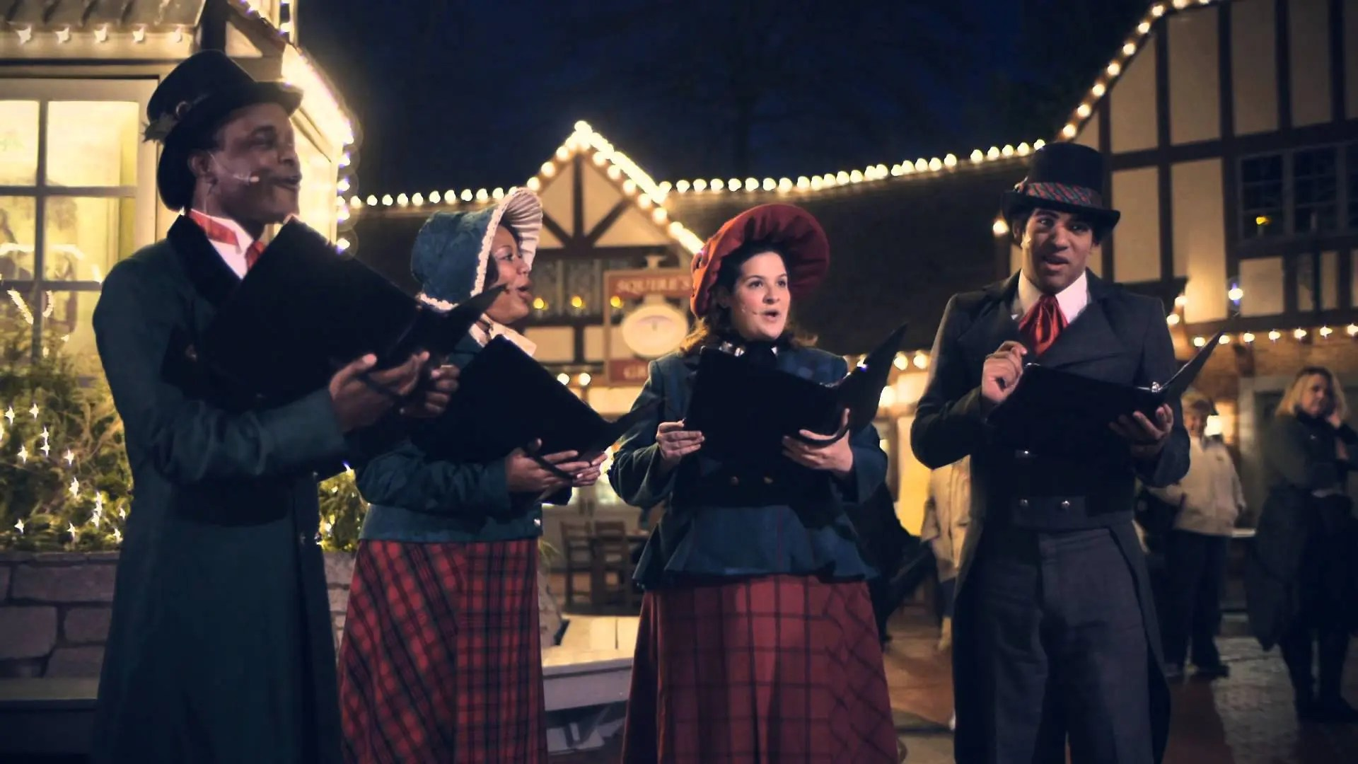 Christmas Traditions at Busch Gardens Williamsburg, VA