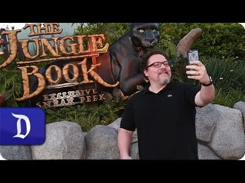 Director Jon Favreau Surprises Disney Parks Blog Fans at 'The Jungle Book' Advanced Screening