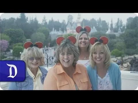 Disneyland 60th Anniversary – Forever Young   Meet the Golden Grandmas