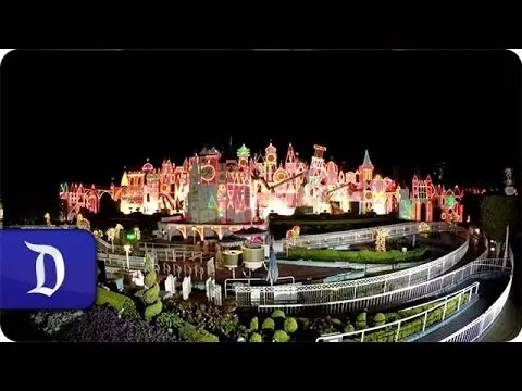 """""""it's a small world"""" Holiday Time-lapse 