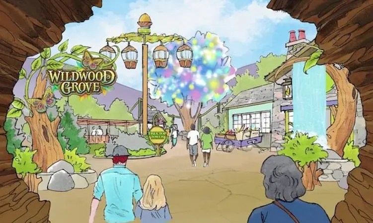 Dollywood Announces  Million Expansion for New Land, Wildwood Grove