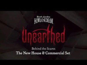 Behind the Scares - The New Haunted House & Commercial Set | Busch Gardens Williamsburg VA