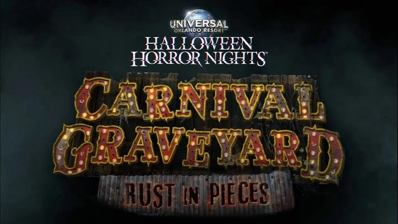 Carnival Graveyard House Reveal | Halloween Horror Nights 2018
