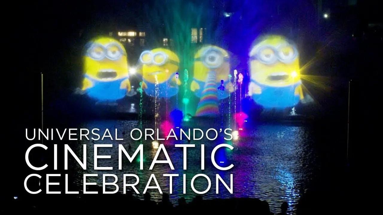 Universal Orlando's Cinematic Celebration – Now Open at Universal Orlando Resort