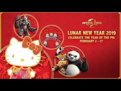 Celebrate Lunar New Year 2019 at Universal Studios Hollywood