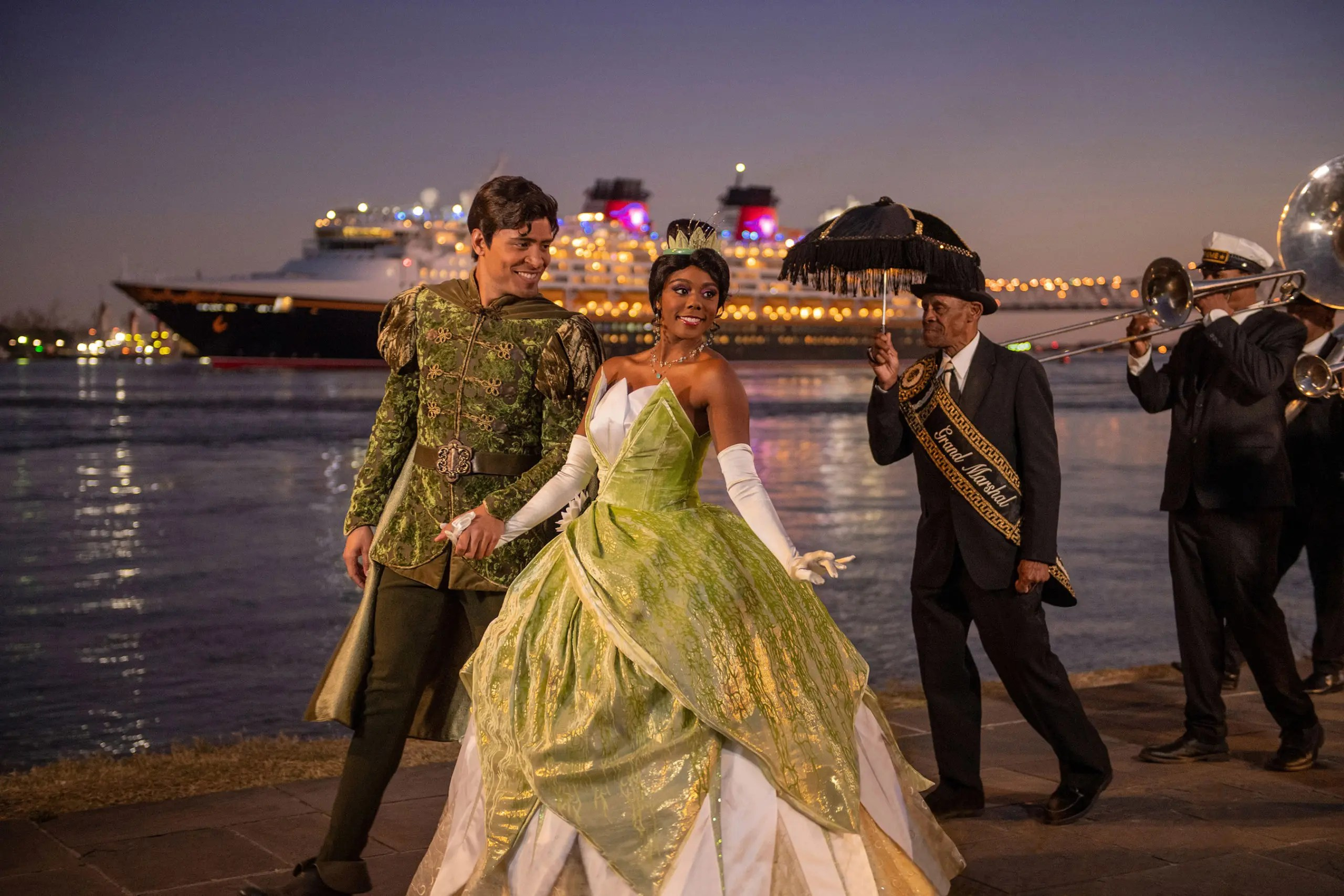 Disney Wonder Sets Sail on Inaugural Voyage from New Orleans