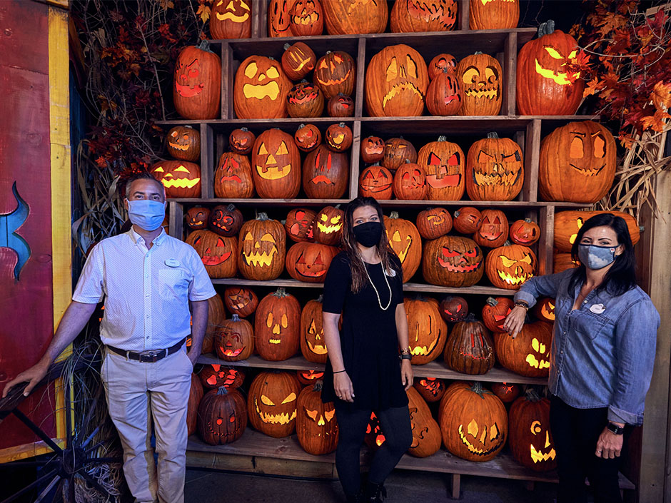 Design Team for the Halloween Horror Nights Tribute Store