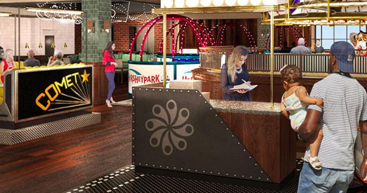 Hersheypark reveals restaurants, shops at planned Chocolatetown expansion