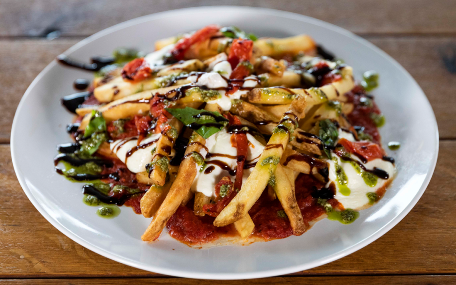Margherita Pizza Fries