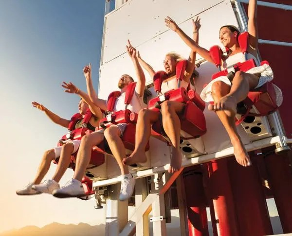 Are you ready for The STRAT's thrill rides in Las Vegas?