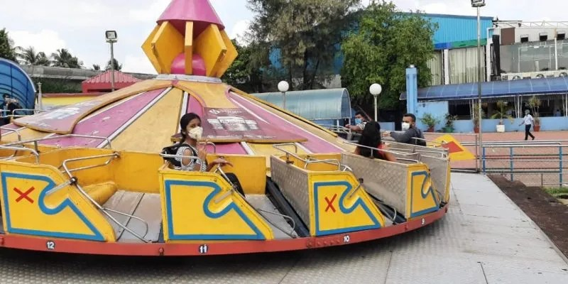 A Roller Coaster Ride and the New Normal for India's Theme Parks