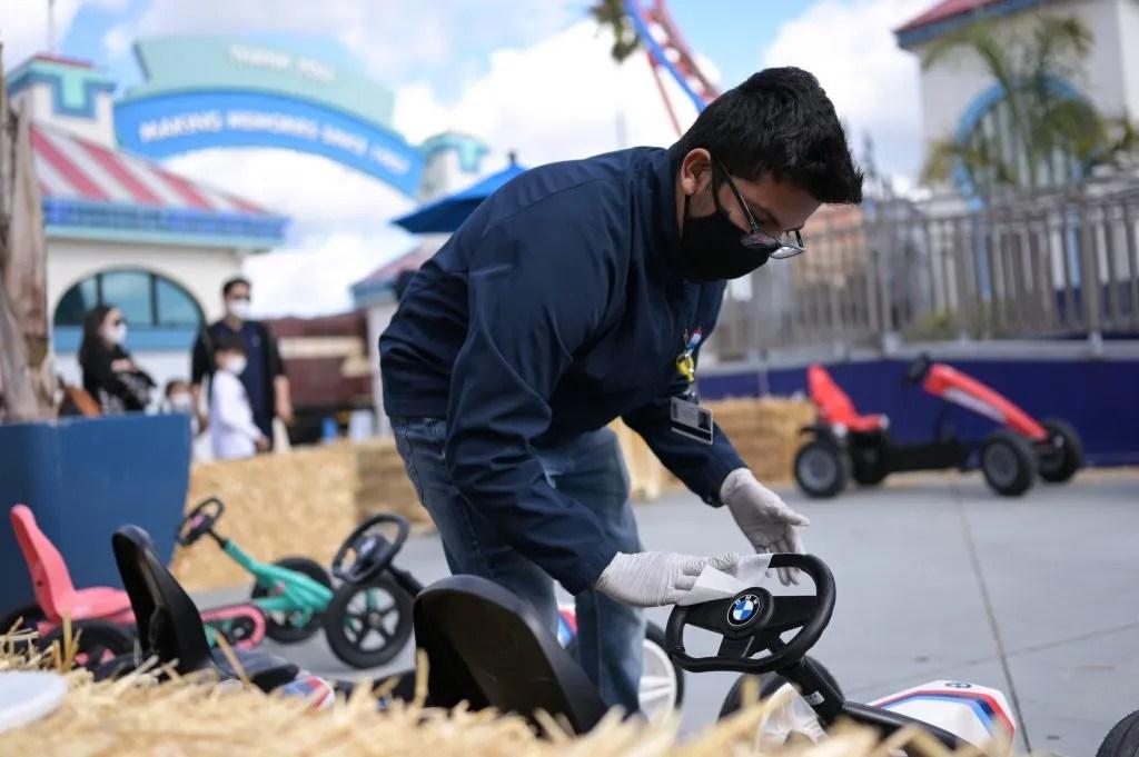Rides run again at Santa Cruz Beach Boardwalk – Santa Cruz Sentinel