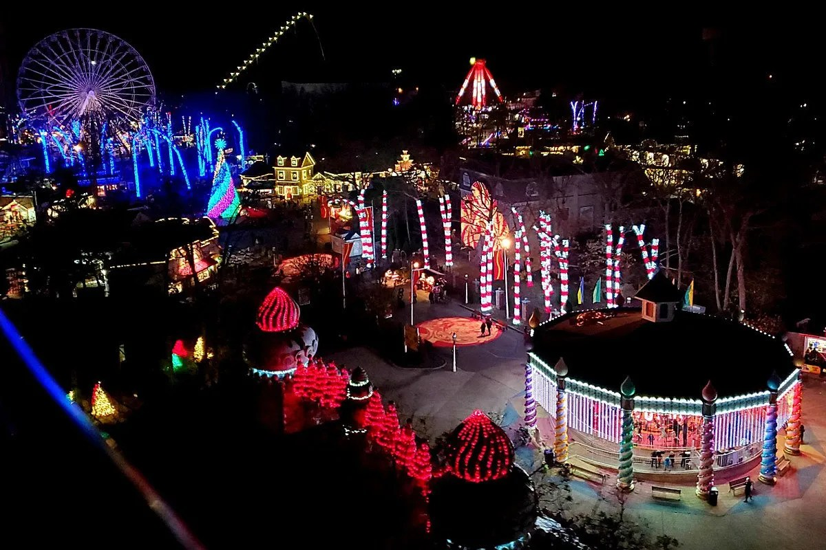 Tap Our App & Score Six Flags Holiday in the Park Tickets