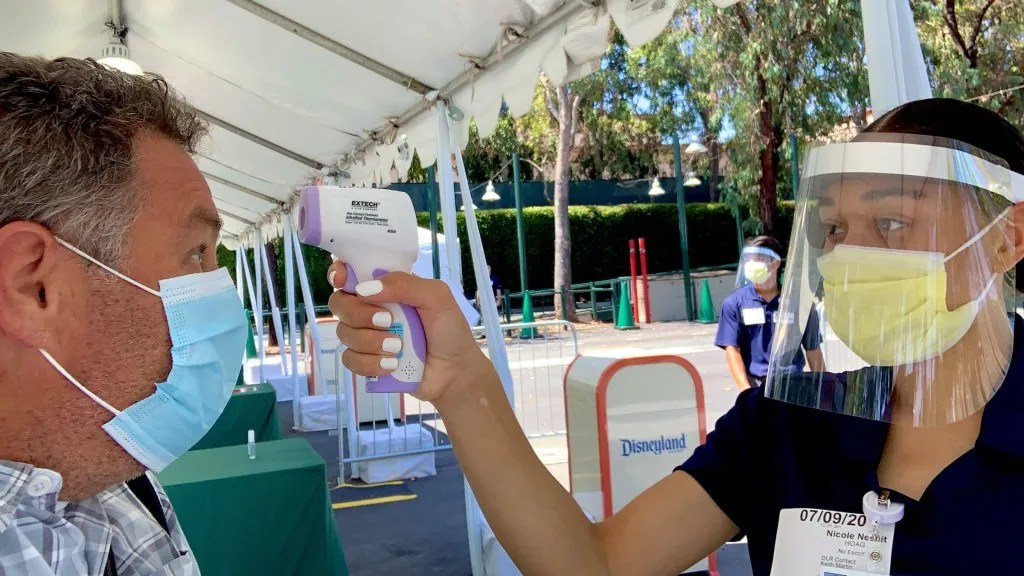 Would you take a rapid COVID-19 test to get into Disneyland? – Orange County Register