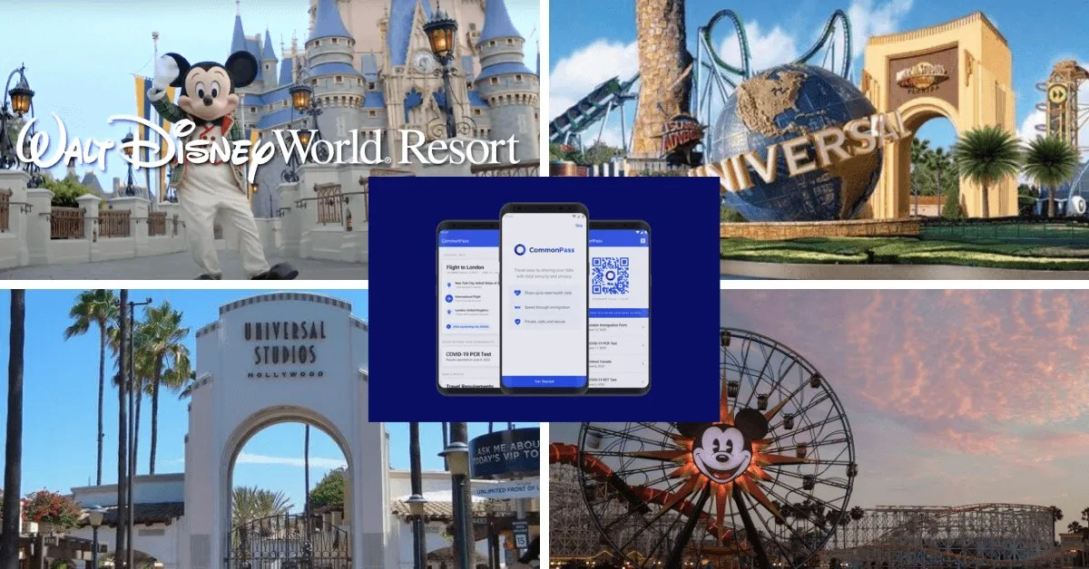 How a Vaccine Passport May Impact Your Disney, Universal Vacation
