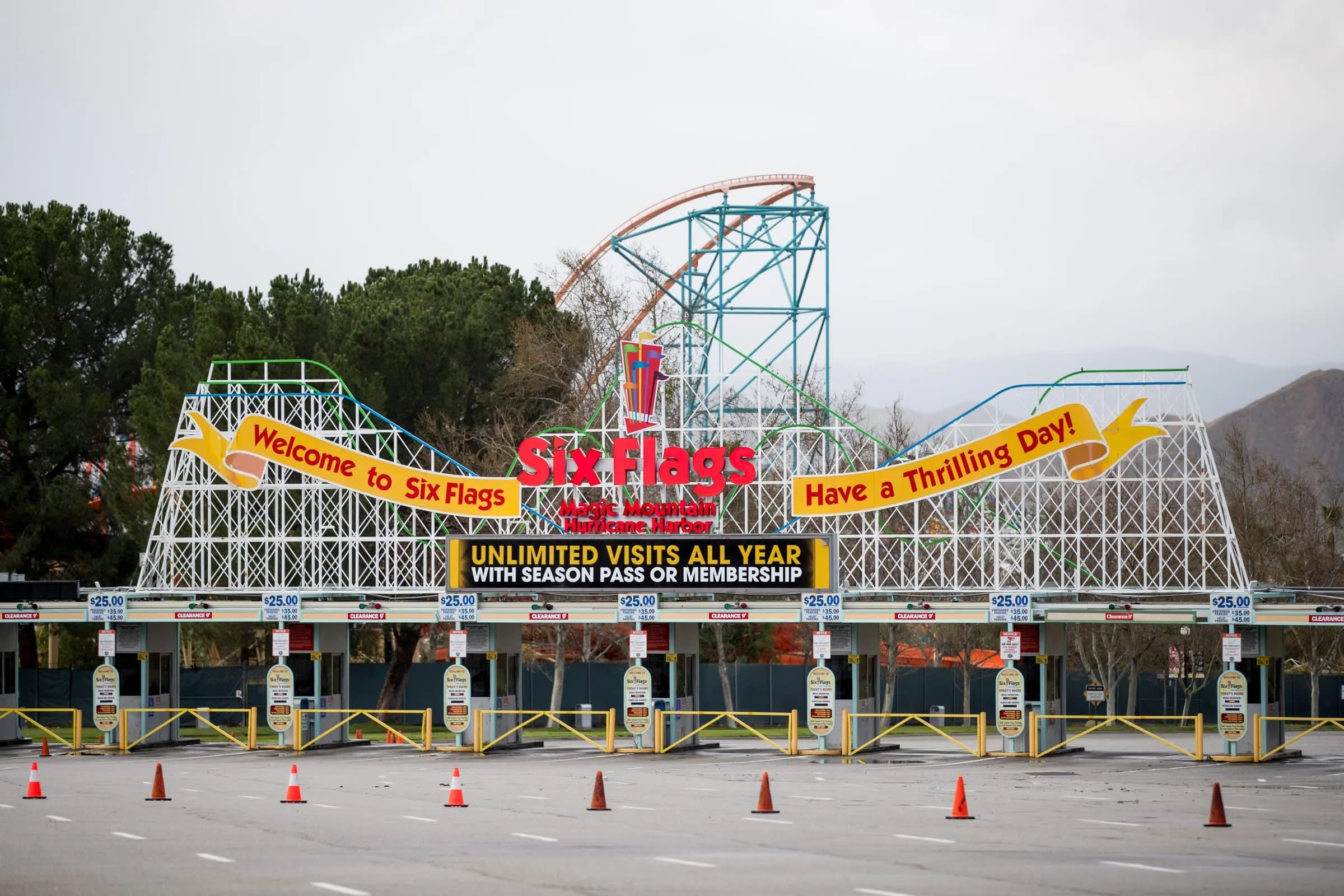 How Six Flags parks plan to survive the coronavirus pandemic